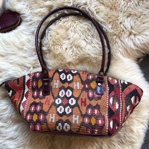 Vintage Kilim Tapestry Bag